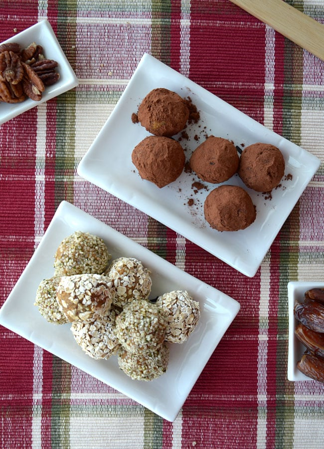 No-Bake Vegan Pumpkin Pie Balls