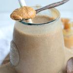 Peanut Butter Mocha Smoothie - Vegan