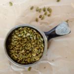 Homeade Garlic Rosemary Roasted Pepitas