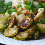 French's Dijon Roasted Brussels Sprouts and a Creamy Dijon Vegetable Bake