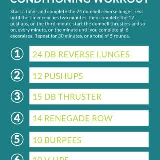 30 Minute CrossFit-Style EMOM Conditioning Workout