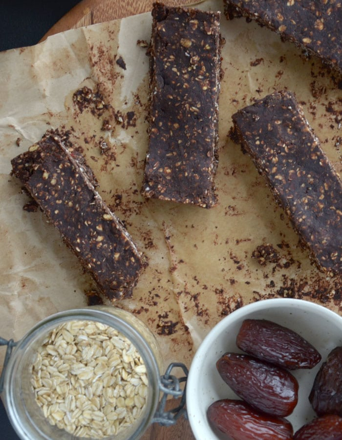 Double Chocolate Peanut Butter Bars made with Adams 100% Natural Peanut Butter