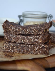 No-Bake Double Chocolate Peanut Butter Bars
