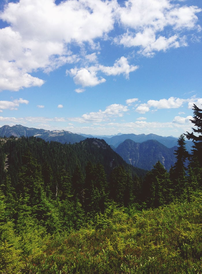 Hiking in Vancouver, BC