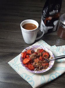 Mocha Protein Oats and Summer Escapes with Lavazza