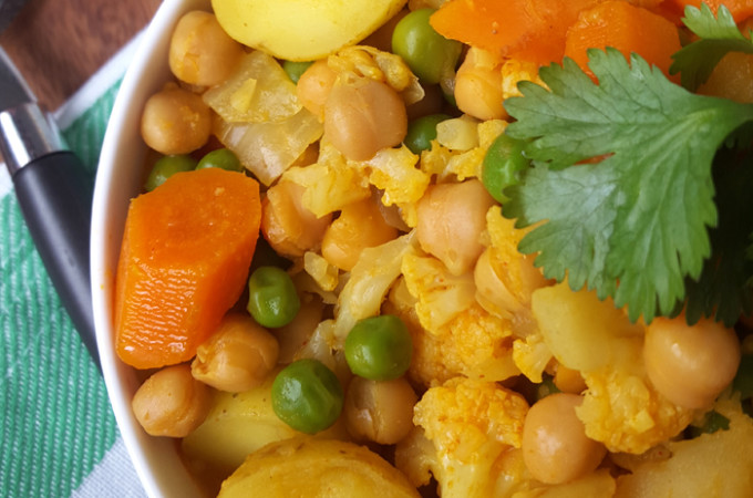 One Day Vegan Meal Plan | week 3 | chickpea stew