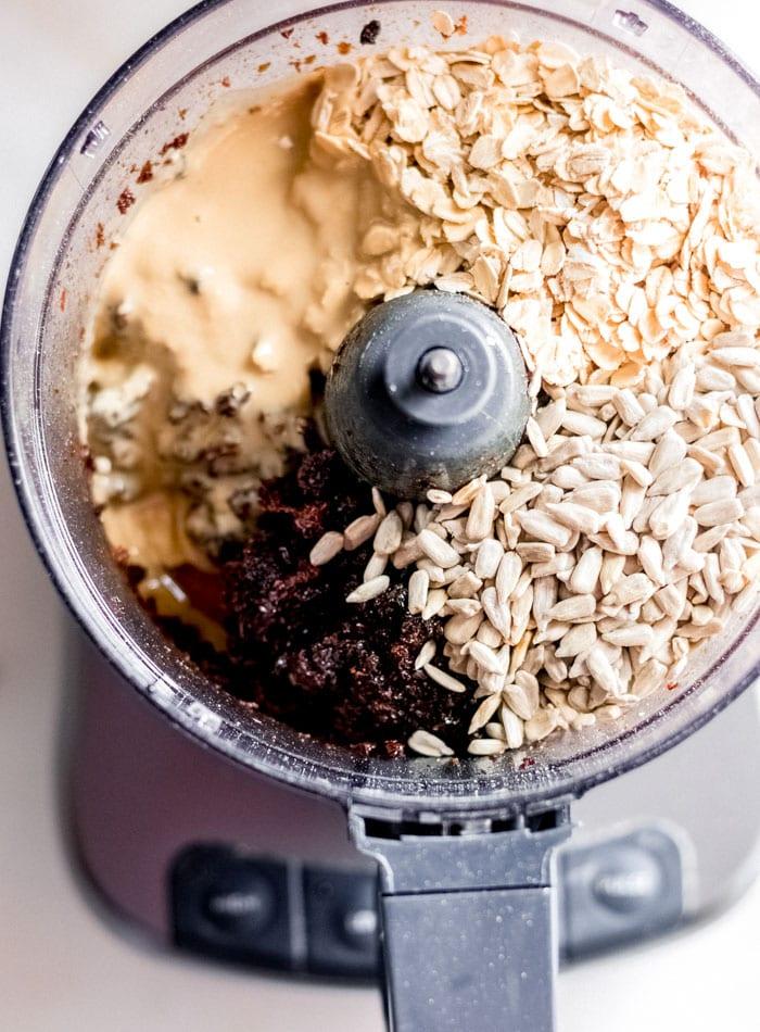 Sunflower Seed Tahini Granola Bars with Raisins - Nut-Free - Running on Real Food