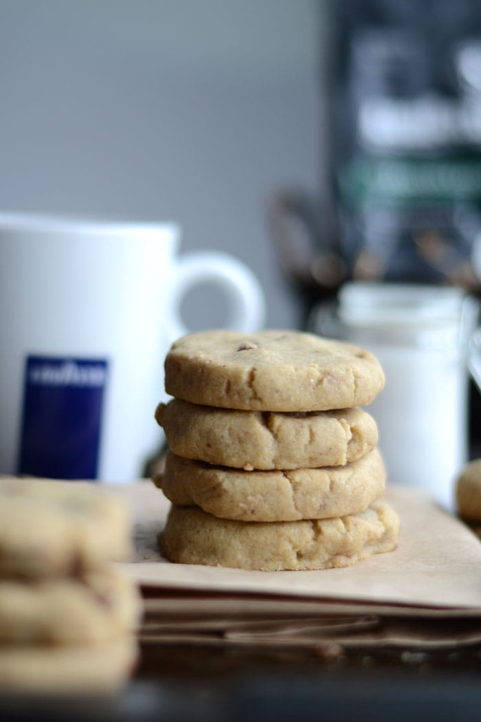 Vegan Chocolate Chip Coffee Cookies