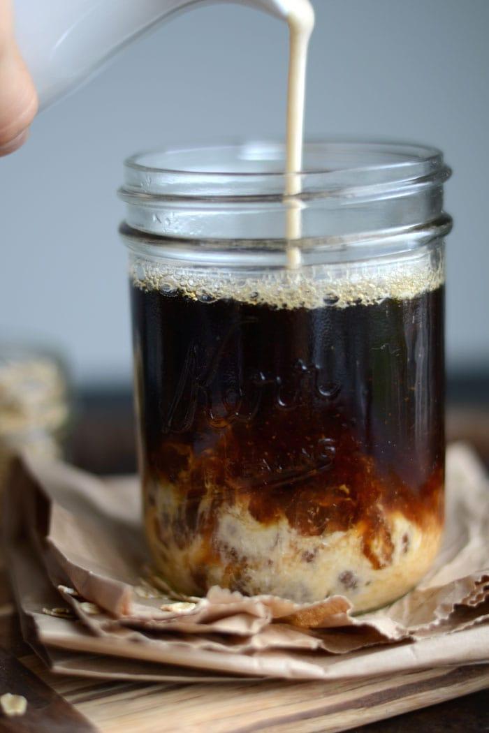 Vanilla Oat Vegan Coffee Creamer