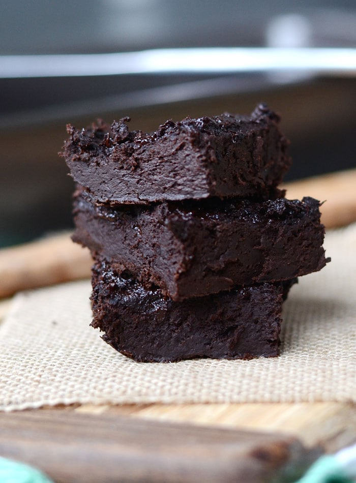 Flourless Protein Brownies - Just 5 Ingredients, Vegan ...