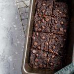 Gluten-Free Vegan Chocolate Coconut Brownies - Running on Real Food