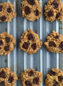 Vegan Peanut Butter Chocolate Chunk Cookies