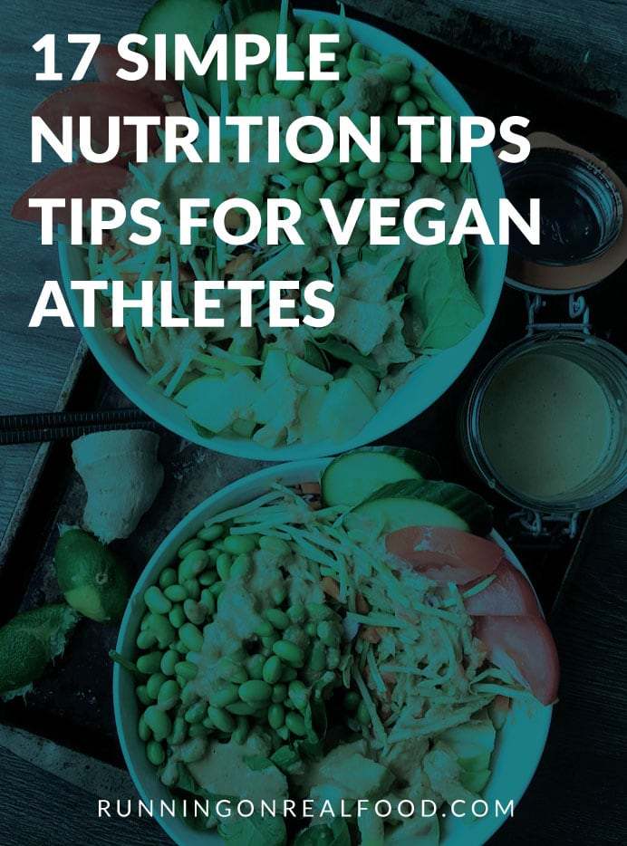 Nutrition Tips for Vegan Athletes