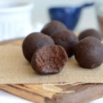 Vegan Chocolate Peanut Butter Protein Balls