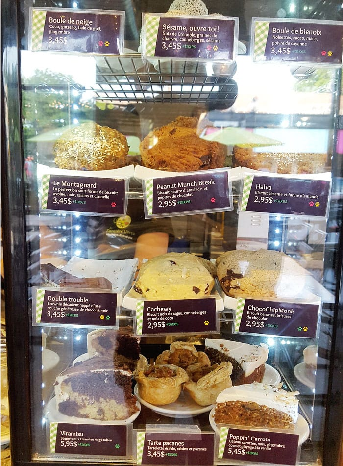 panthere-verte vegan cookies montreal