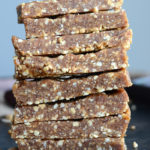 2-Ingredient Vegan Salted Peanut Bars
