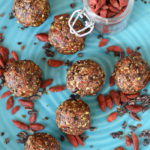 Benefits of Goji Berries + Raw Vanilla Goji Berry Balls Recipe