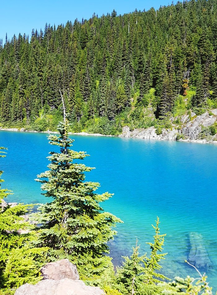 Garibaldi Lake Hike near Vancouver and Whistler, BC