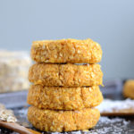 Healthy Sweet Potato Coconut Oat Cookies - Vegan + GF