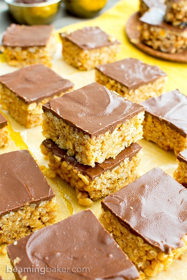 Snickers Chocolate Peanut Butter Squares Gluten Free