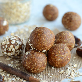 Nut-Free Raw Gingerbread Cookie Dough Balls