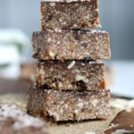 No-Bake Vegan Almond Joy Bars