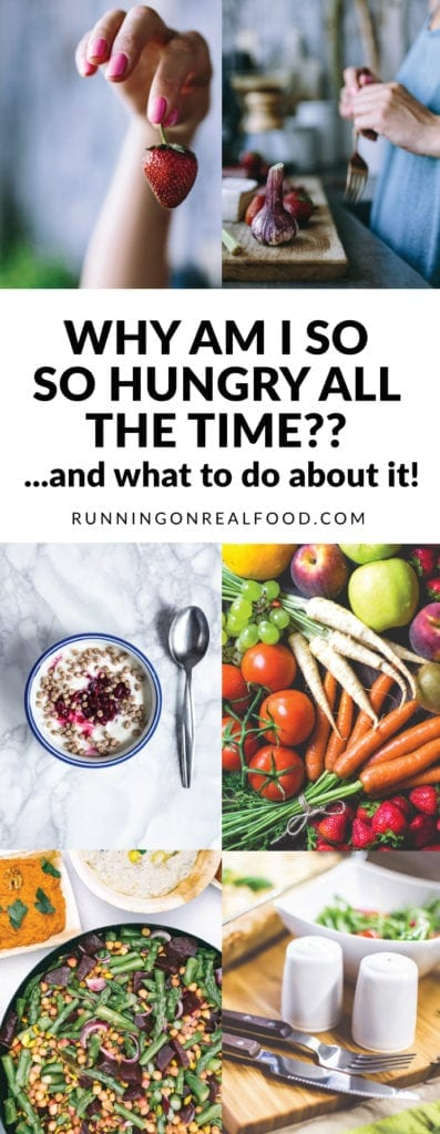 Why Am I so Hungry All the Time? And what we can do about it!