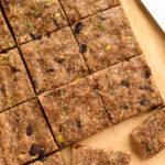 No Bake Energy Bars With Hemp Seeds Chia Seeds And Walnuts
