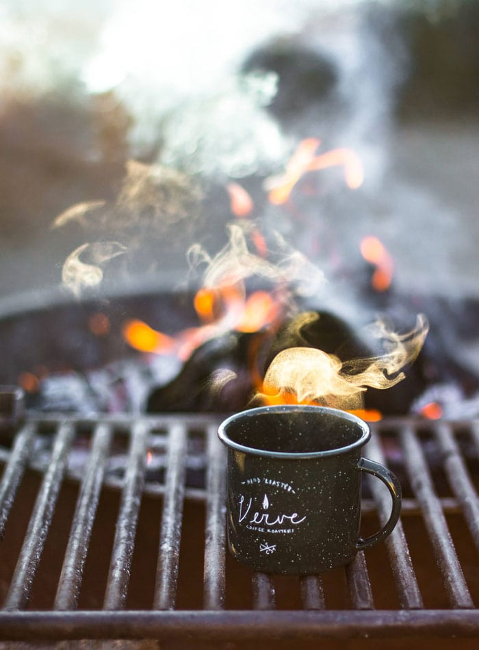 Vegan Camping Food Ideas from Running on Real Food   plan a plant-based camping trip