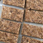 No-Bake Vanilla Espresso Date Energy Bars | Vegan, Gluten-Free, Oil-Free, No Added Sugar