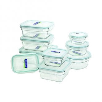 Airtight Glasslock Containers from the Running on Real Food Shop