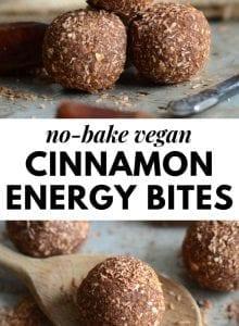 No-Bake Cinnamon Energy Bites