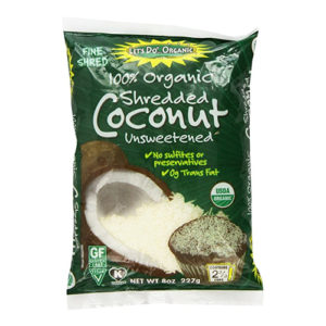 Do Organic Shredded Coconut