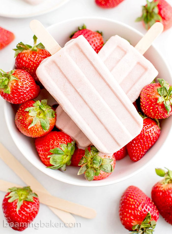 Best Healthy Vegan Popsicle Recipes | coffee and coconut milk popsicles