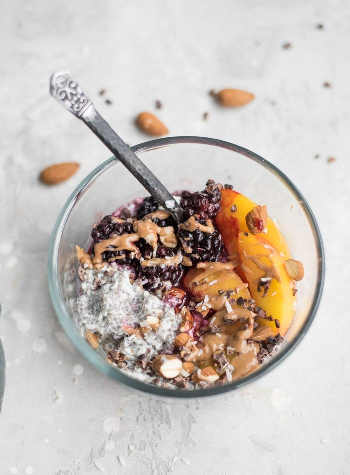 Healthy Coconut and Chia Pudding Recipe - Running on Real Food