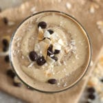Vanilla Coconut Cashew Latte Smoothie | vegan, high in protein | Running on Real Food
