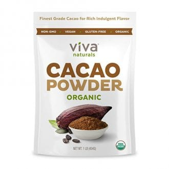 Cacao Powder Running on Real Food Shop