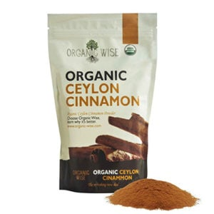 Organic Ceylon Cinnamon Running on Real Food