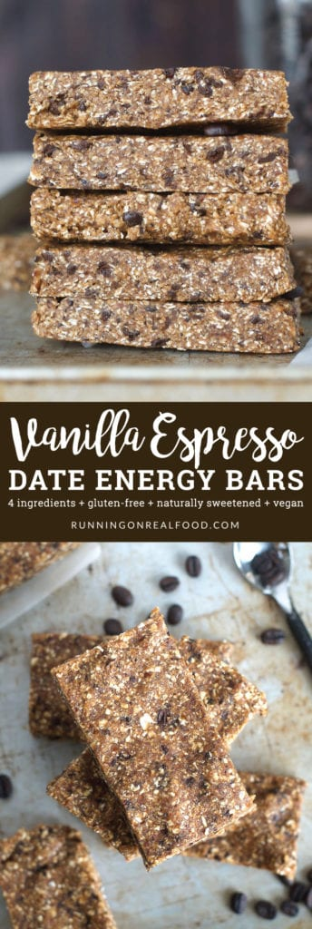 Vanilla Espresso Date Energy Bars