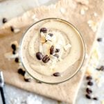 Creamy Coconut Cashew Latte Smoothie with Protein - Running on Real Food