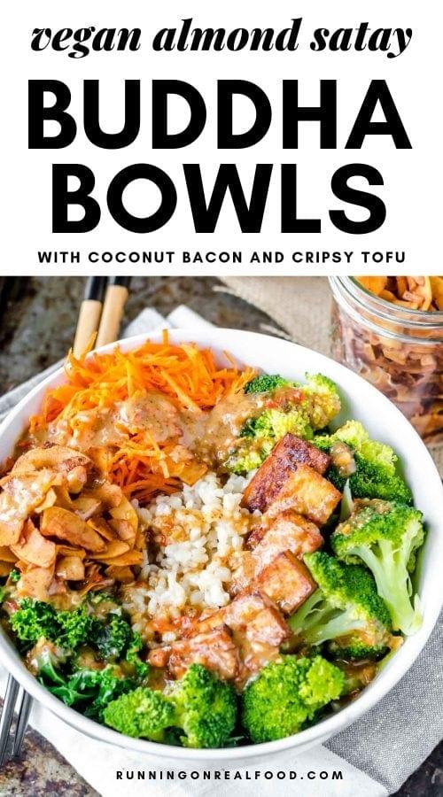 Vegan Almond Satay Buddha Bowls