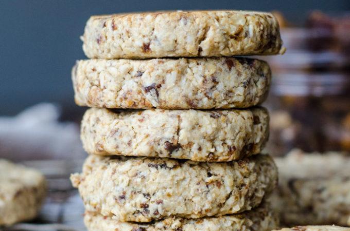 Vegan Tahini Date Cookies