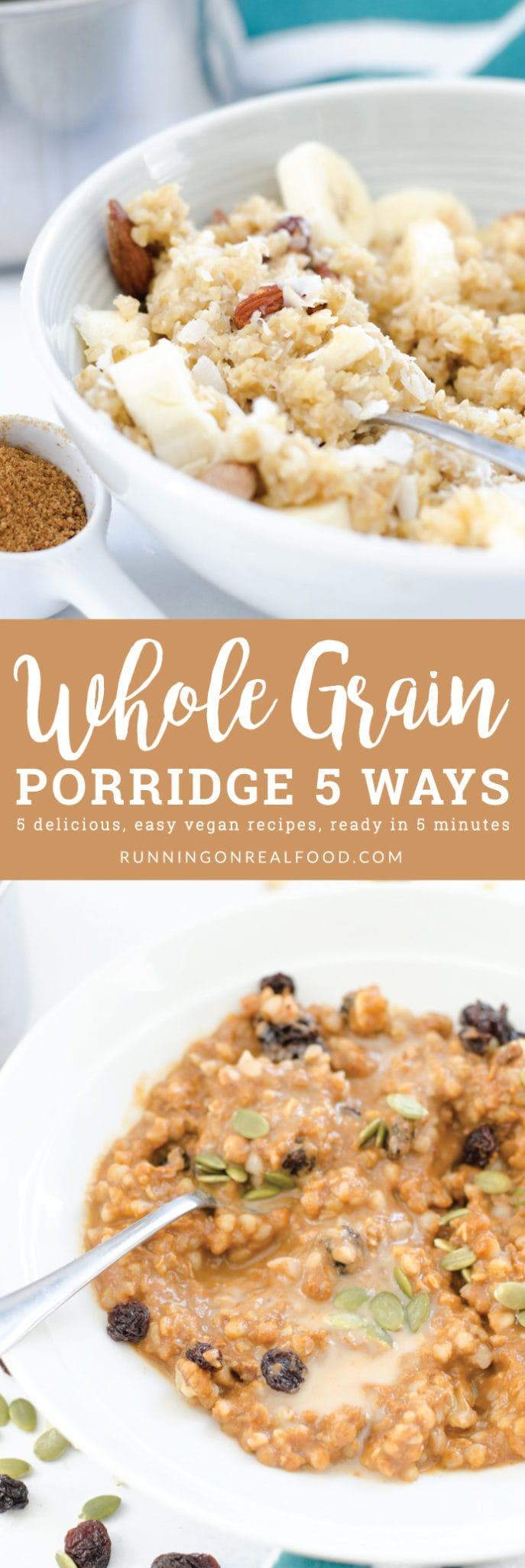 Healthy Whole Grain Porridge