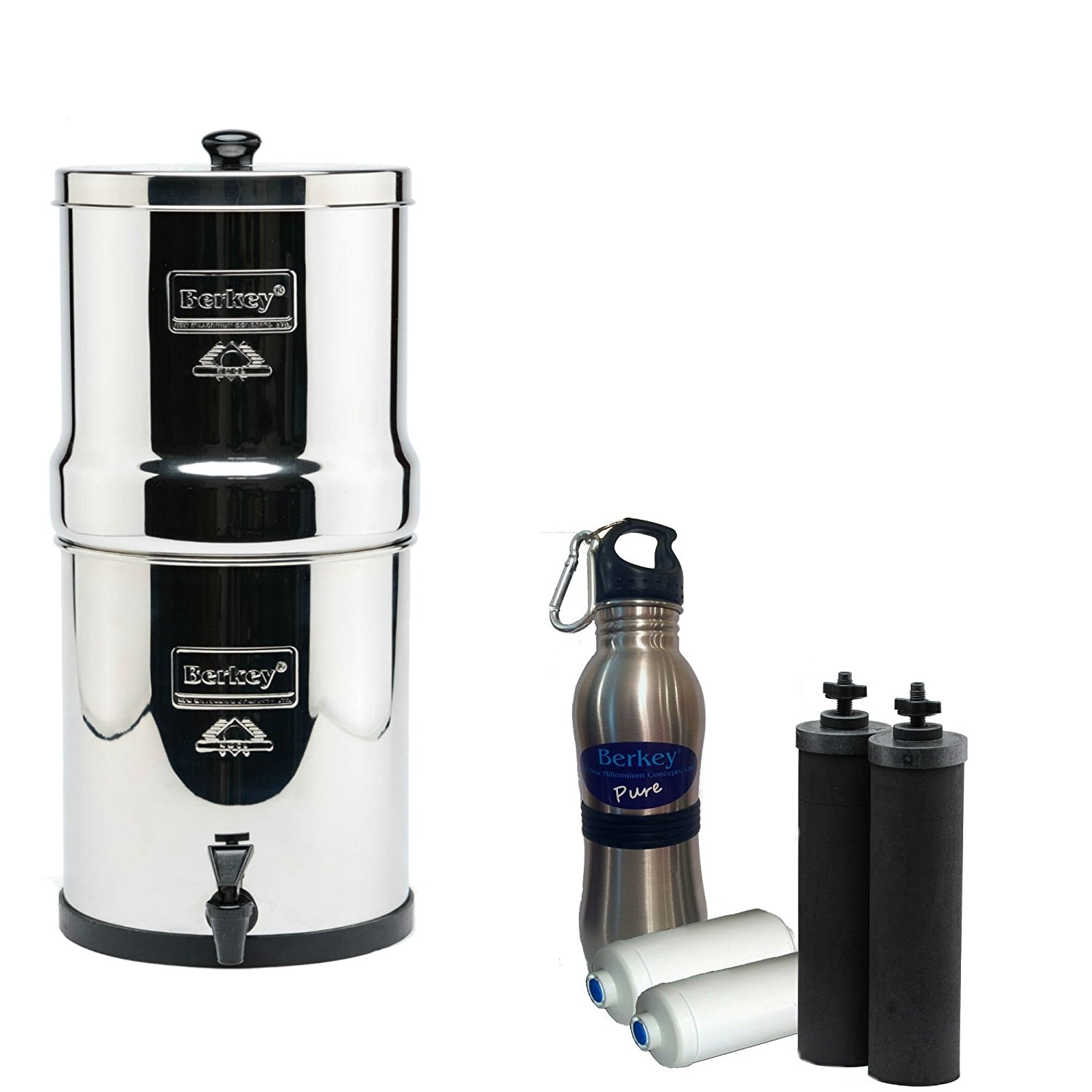 Berkey Water Filter System Running on Real Food Healthy Gift Guide