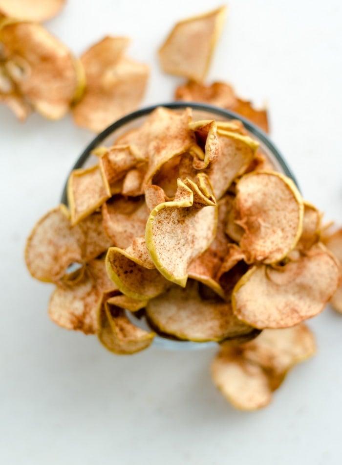 Baked Cinnamon Apple Chips