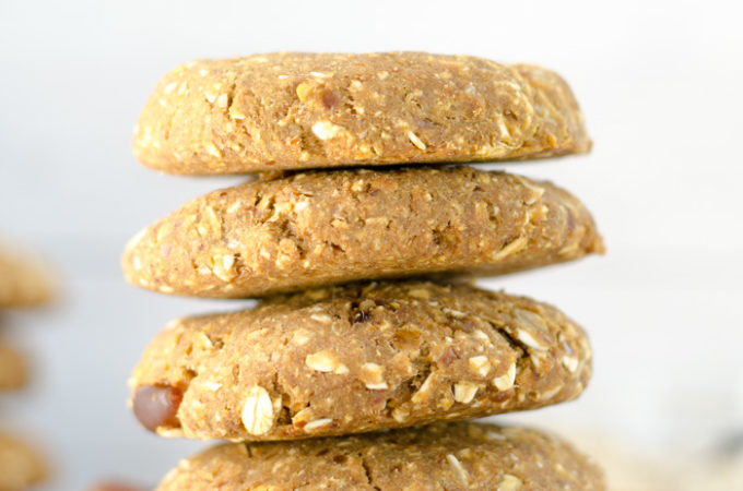 Vegan Chickpea Breakfast Cookies