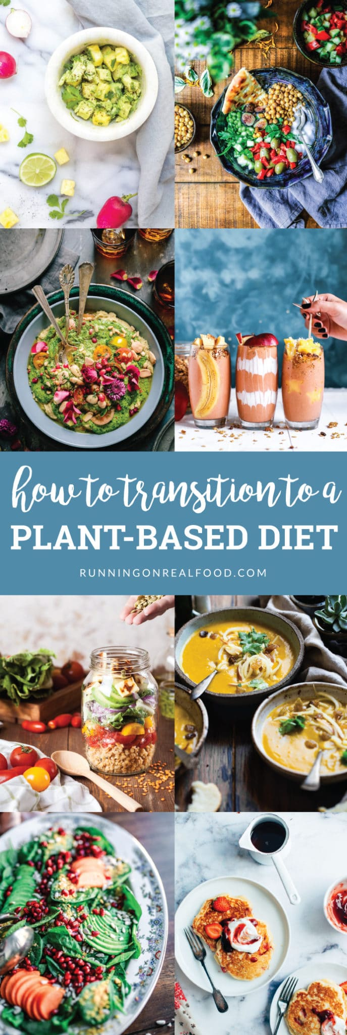 Whether it's to lose weight, prevent disease or reduce harm to animals, learn how to transition to a plant-based diet by taking one small step at a time.