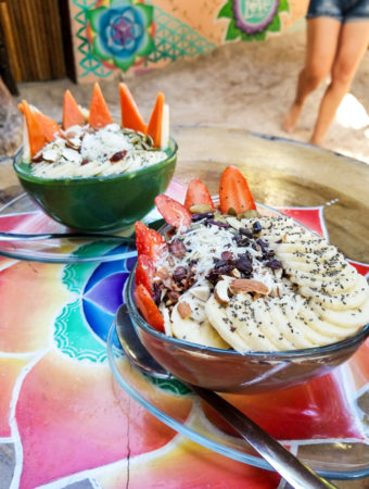 Vegan Food in Tulum and Playa del Carmen, Mexico