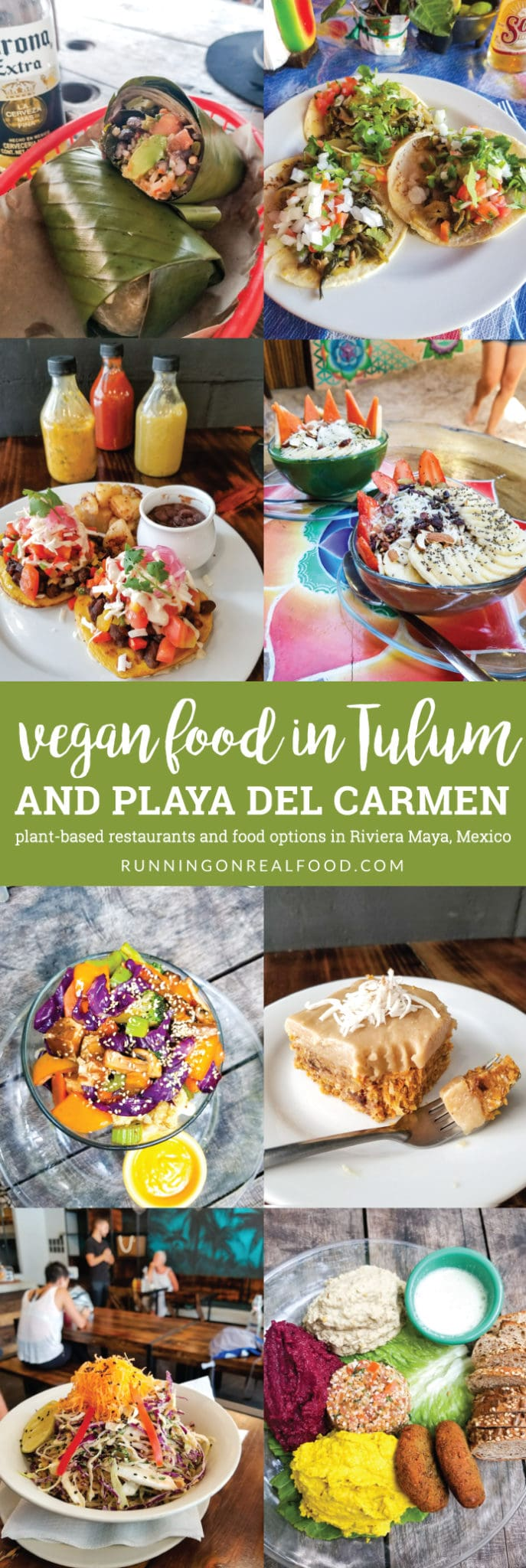 The best vegan restaurants and plant-based food options in the Riviera Maya, Quintana Roo, Mexico including Tulum, Playa del Carmen and Akumal.