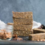 Vegan Gluten-Free Coconut Pumpkin Spice Latte Energy Bars